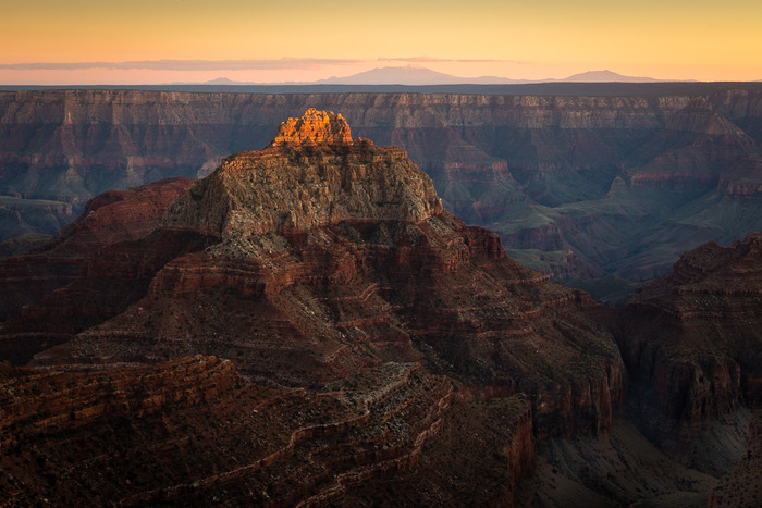 Jeff Sagar Last Light North Rim Grand Canyon